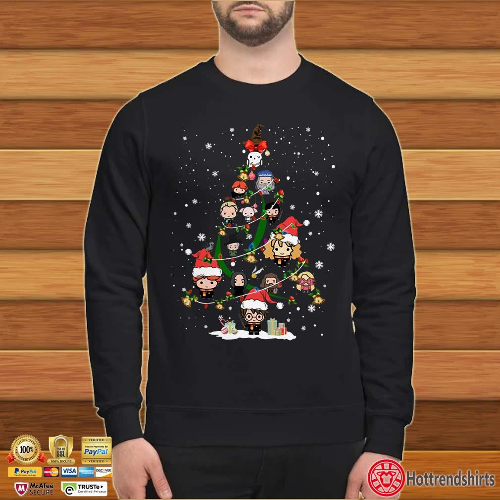 Harry Potter Christmas Tree Merry Xmas Shirt