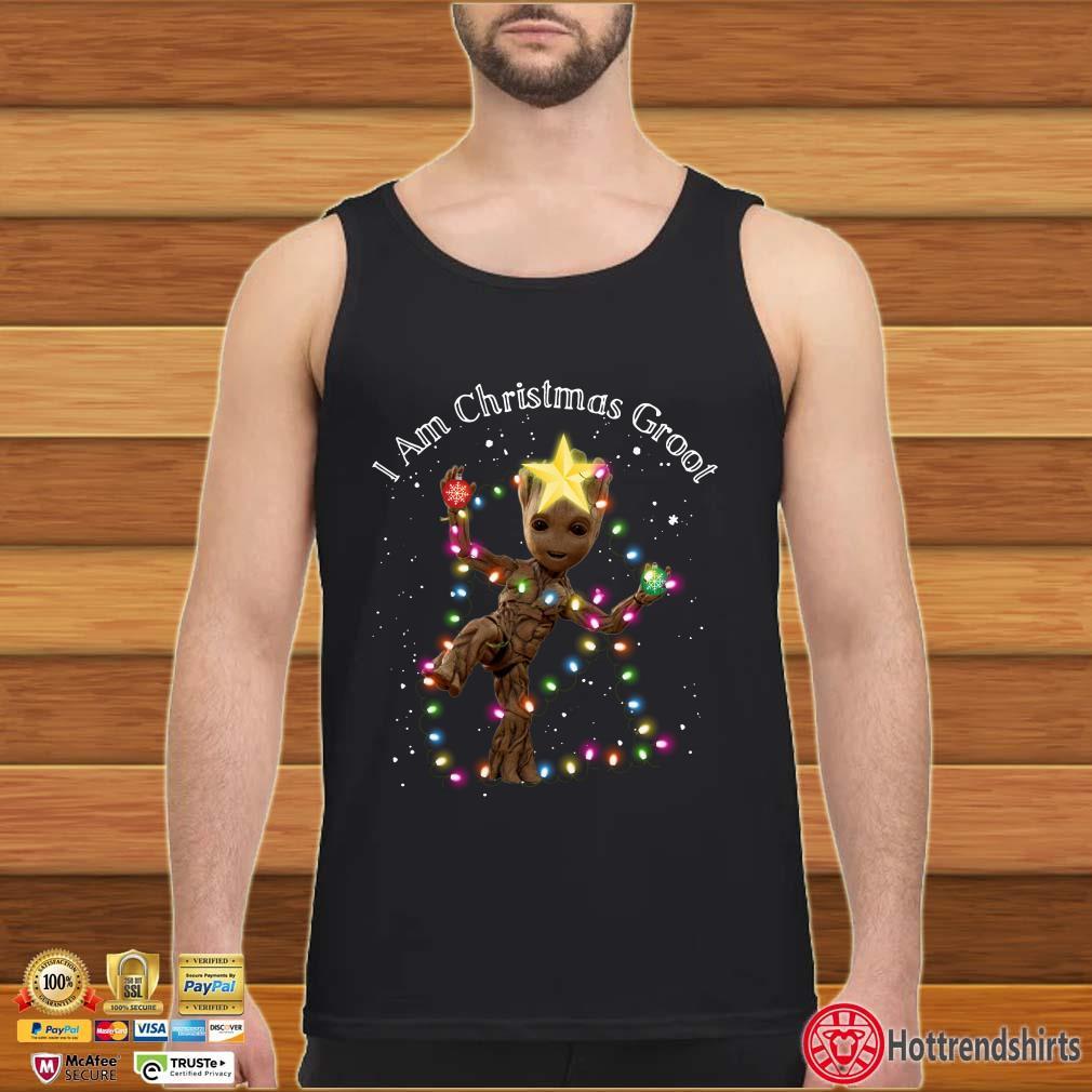 I Am Christmas Groot Light Christmas Shirt