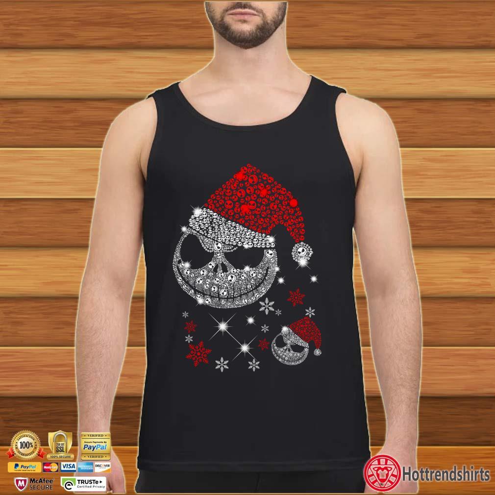 Jack Skellington Santa Diamond Christmas Shirt