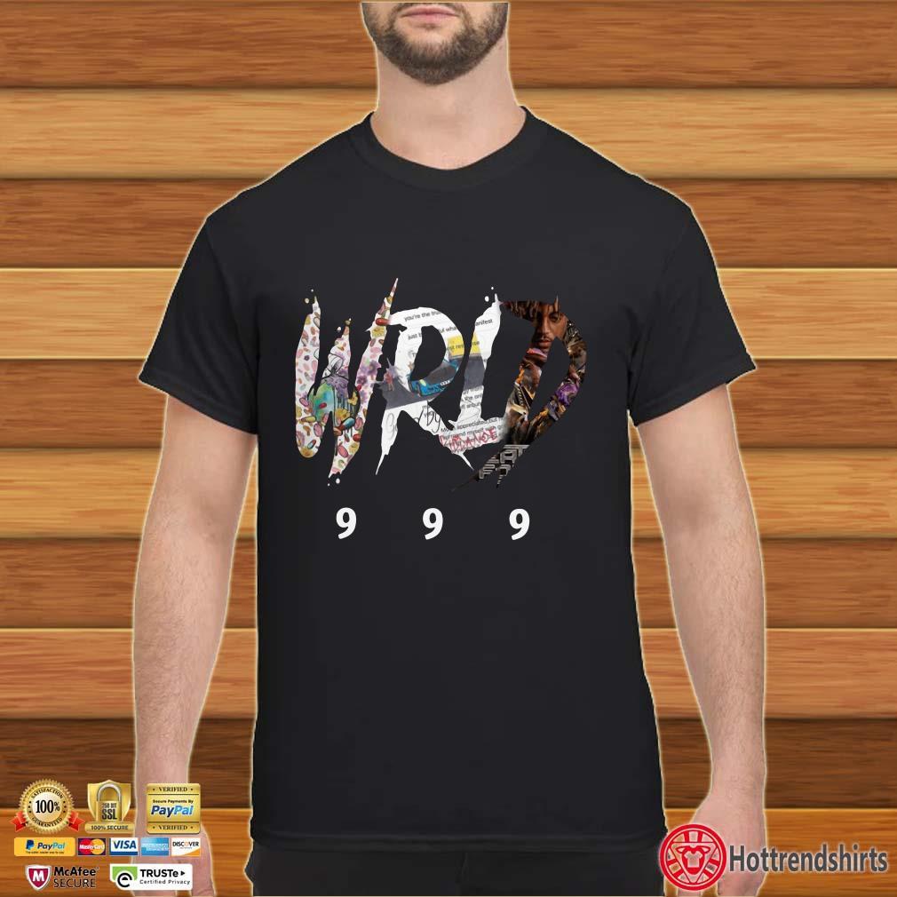 Rest in peace Juice WRLD 999 rapper shirt