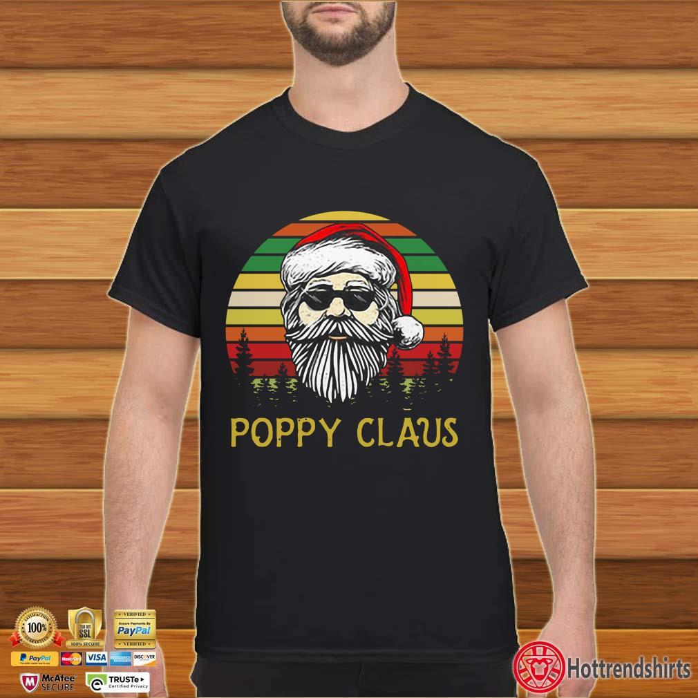 Santa Claus Poppy Claus Christmas Vintage Shirt