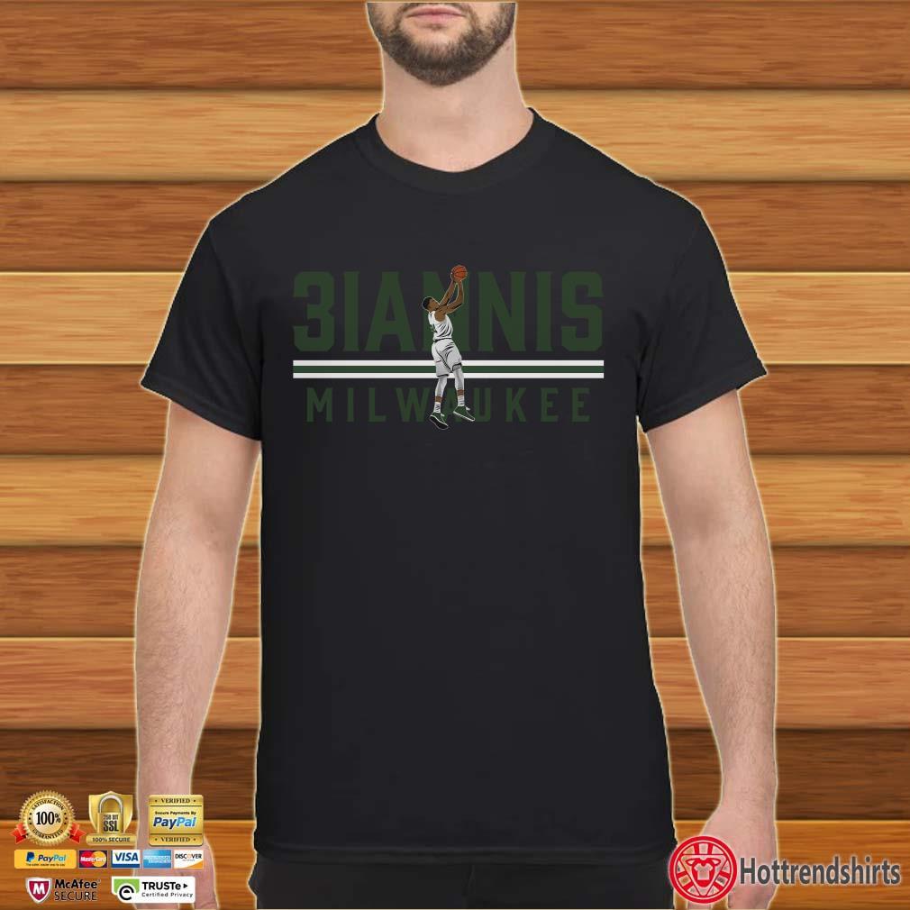 3IANNIS Milwaukee Basketball Shirt