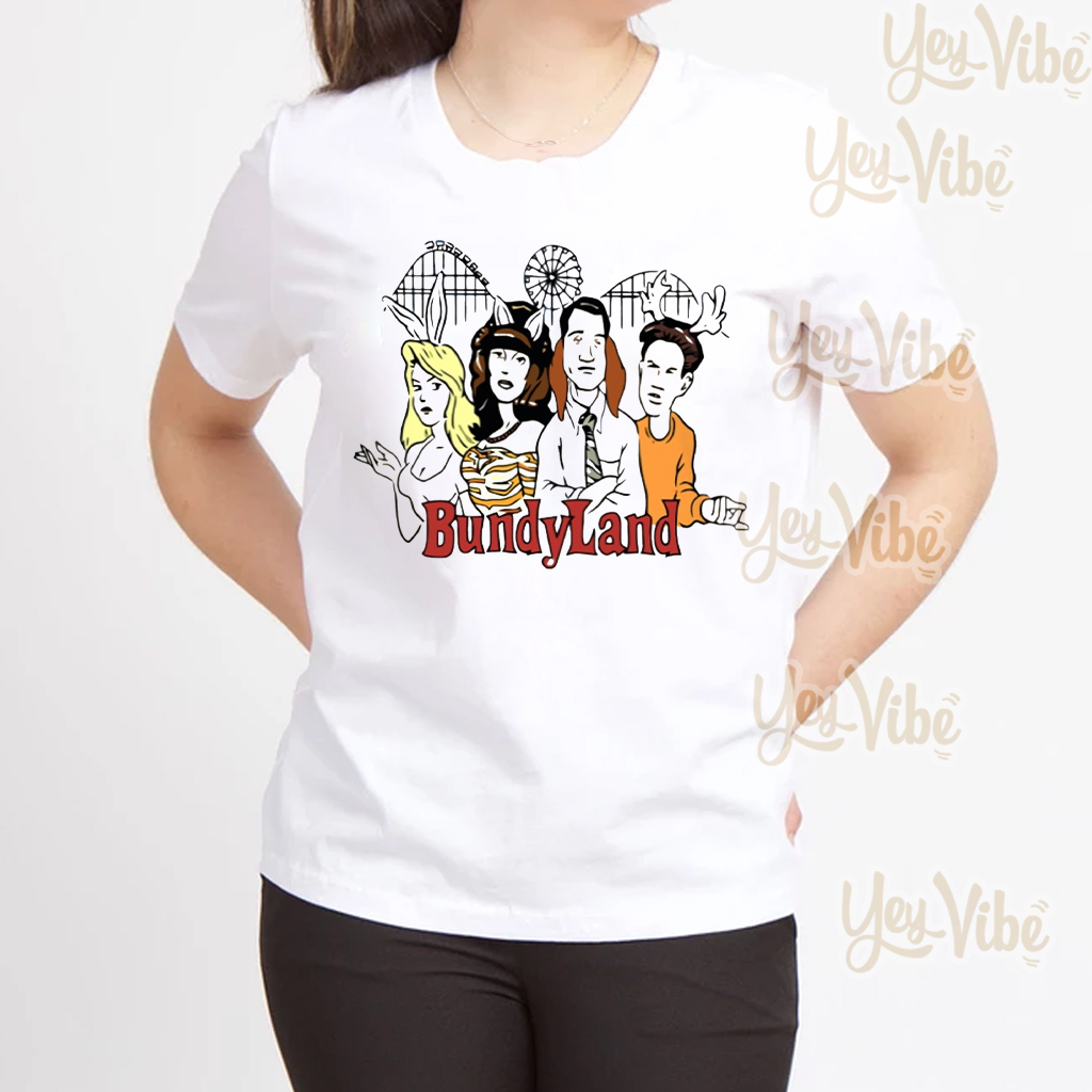 Married with Children Bundyland Unisex Toddler T Shirt for Boys and Girls