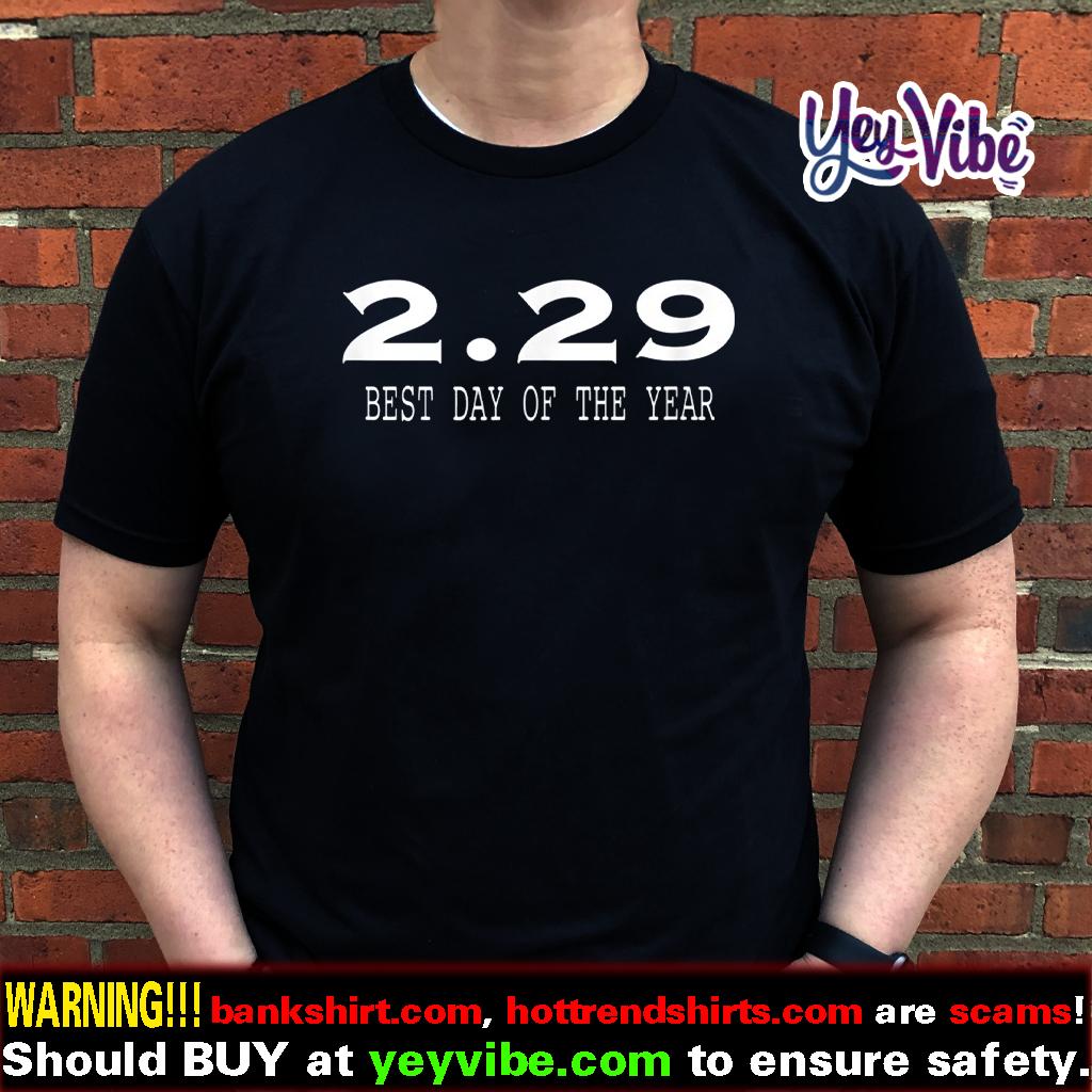 Leap Year Birthday Shirt Gift February 29th T Shirt