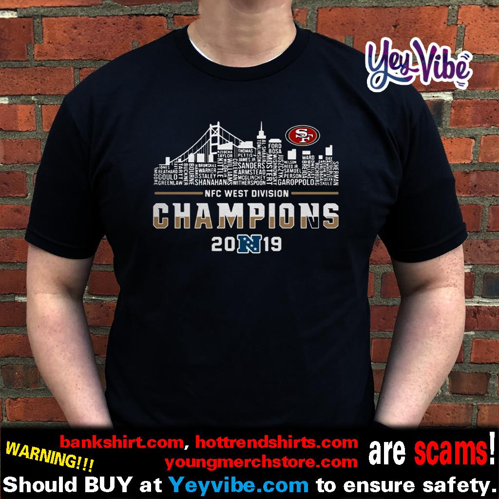 NFC West Division Champions 2019 San Francisco t shirts