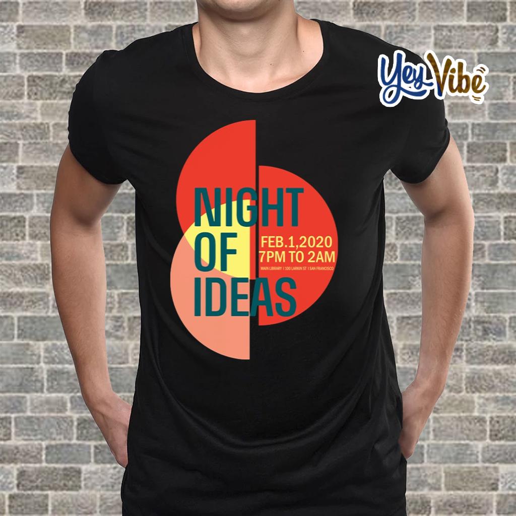 Night of Ideas San Francisco Shirts