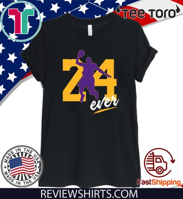 24ever Kobe Bryant Number 24 Forever basketball Legend Shirt