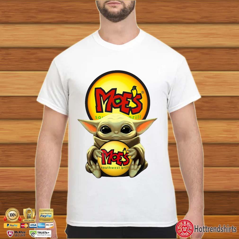 Baby Yoda Hug Moe's Southwest Shirt