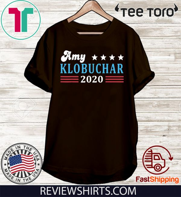 Amy Klobuchar for President Amy Klobuchar 2020 Tee Shirt