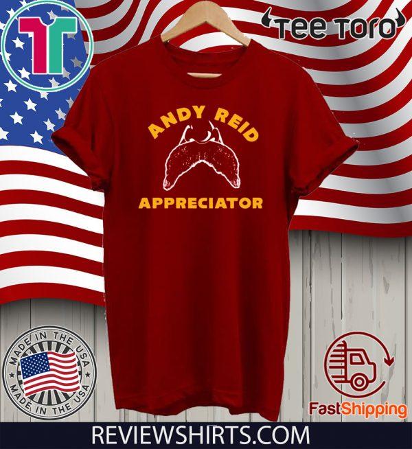 Andy Reid Appreciator For T-Shirt