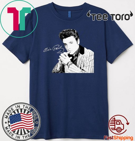 Elvis Presley Signature Official T-Shirt