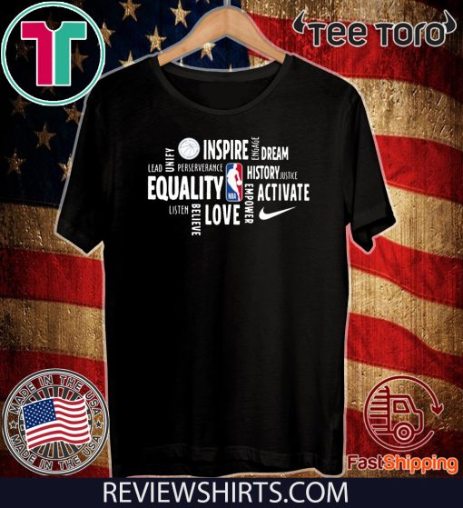 Official Nba Black History Month 2020 T-Shirt