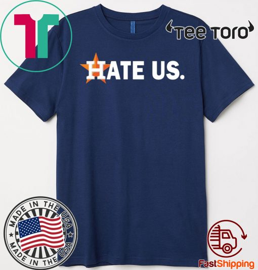 Houston Astros hate us Official T-Shirt