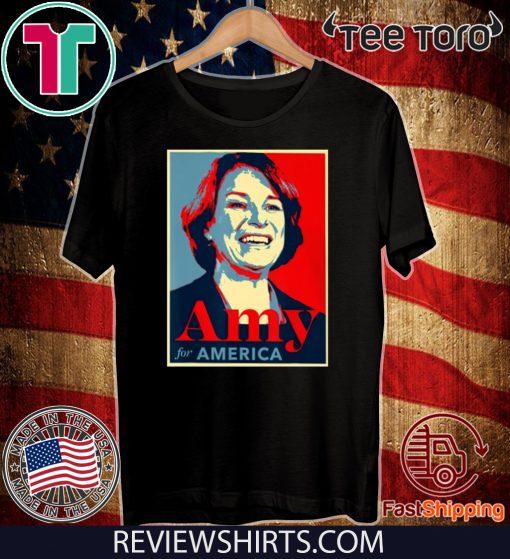 Klobuchar For President Amy Klobuchar 2020 Official T-Shirt
