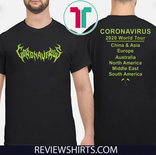 Official Coronavirus World tour T-Shirt