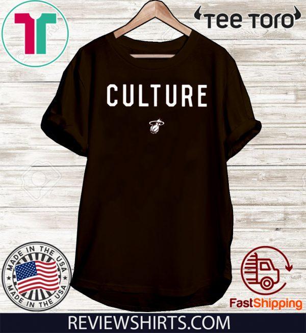 Miami Heat Culture Official T-Shirt