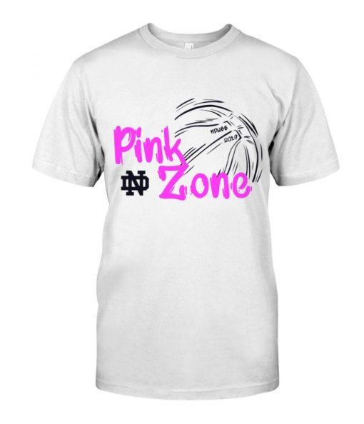 PINK ZONE CUSTOMIZED WARM-UP SHIRT