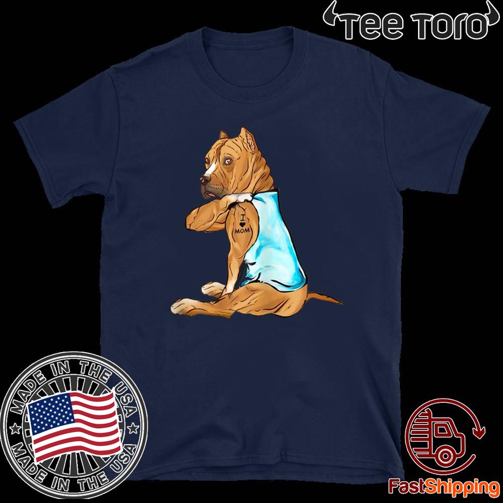 SHIRT1-KIDS Pitbull American Flag Toddler//Infant Crew Neck Long Sleeve Shirt T-Shirt for Toddlers