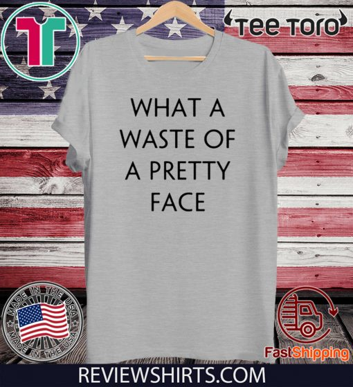 Rolling Stone What A Waste Of A Pretty Face Official T-Shirt