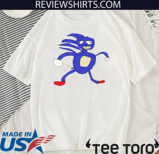 Sanic Slim Fit Official T-Shirt