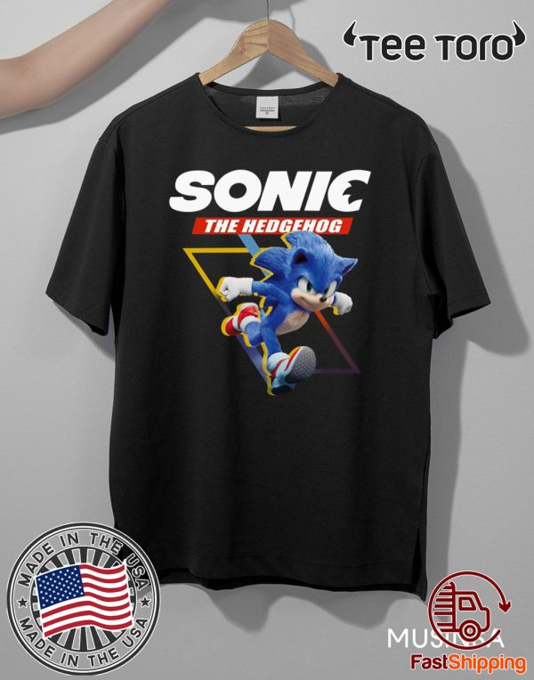 Sonic The Hedgehog Funny T-Shirt