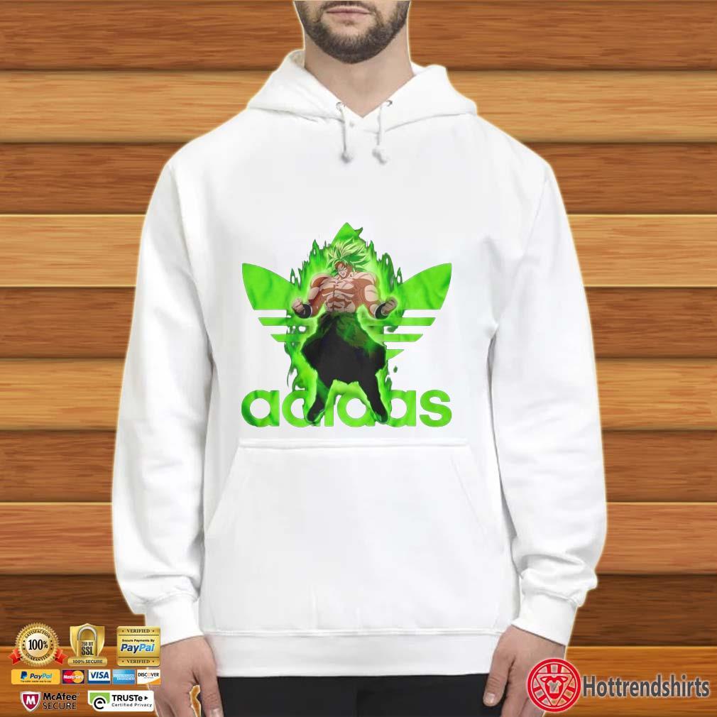 dragon ball z adidas hoodie