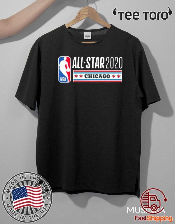 2020 NBA ALL STAR GAME SUPER CHICAGO T-SHIRT