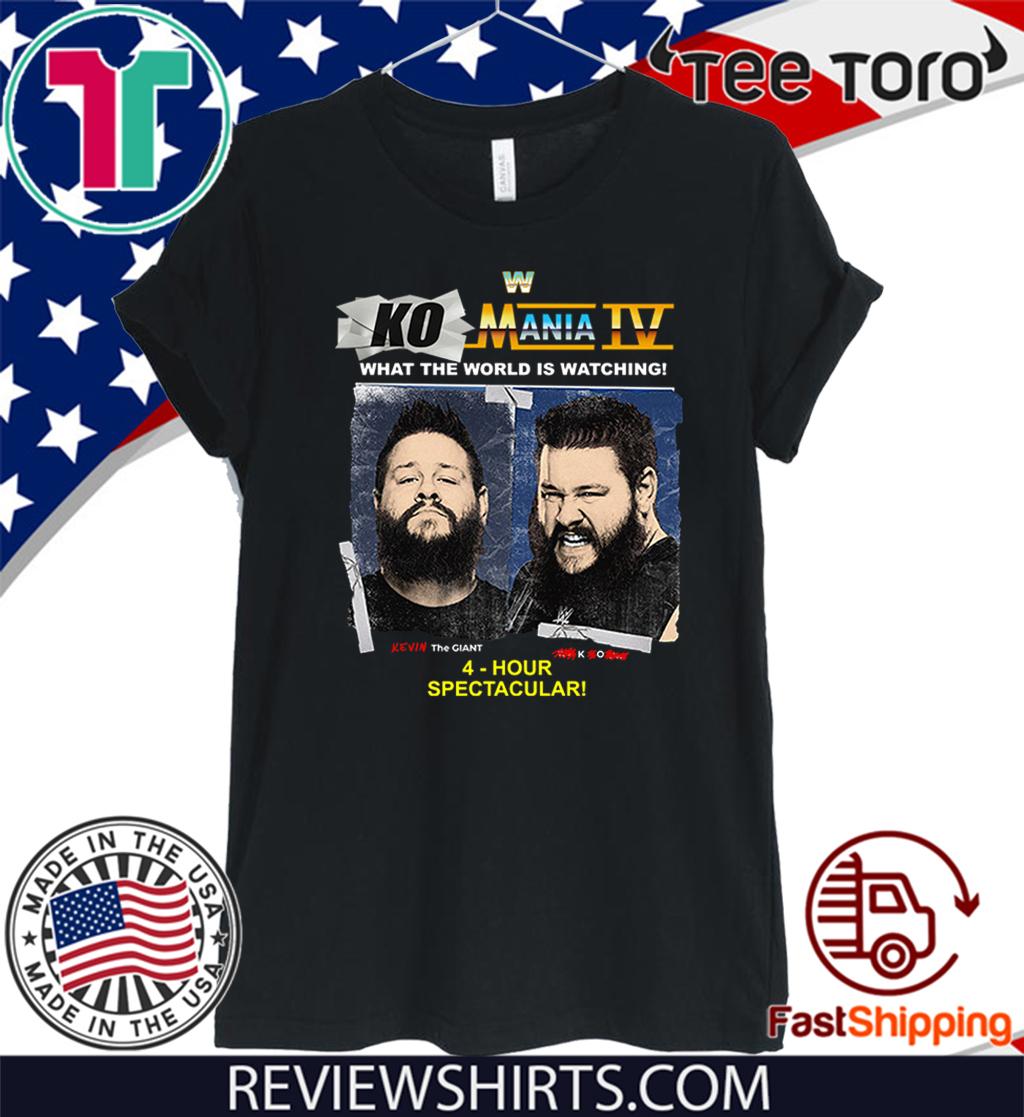 Kevin Owens Ko Mania 4 T-Shirt