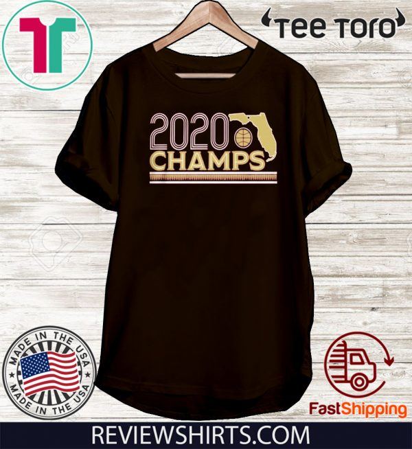 2020 NATIONAL CHAMPS OFFICIAL T-SHIRT