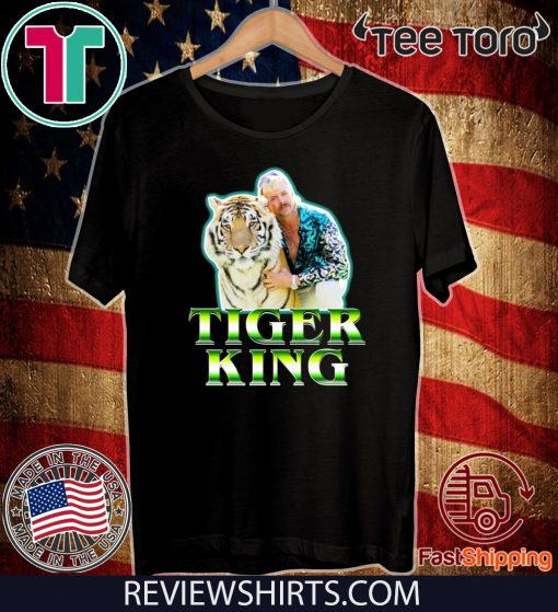 Joe Exotic Tiger King t-shirts