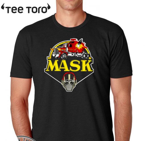 mask from 2020 t-shirt