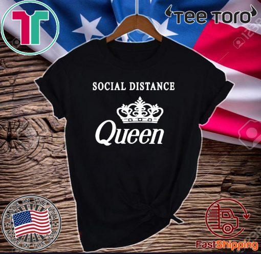 Social Distance Queen Bella Social Distancing Shirt