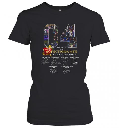 04 Years Of Descendants 2015 2019 3 Seasons Signature T-Shirt Classic Women's T-shirt