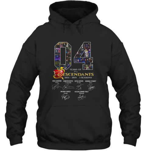 04 Years Of Descendants 2015 2019 3 Seasons Signature T-Shirt Unisex Hoodie