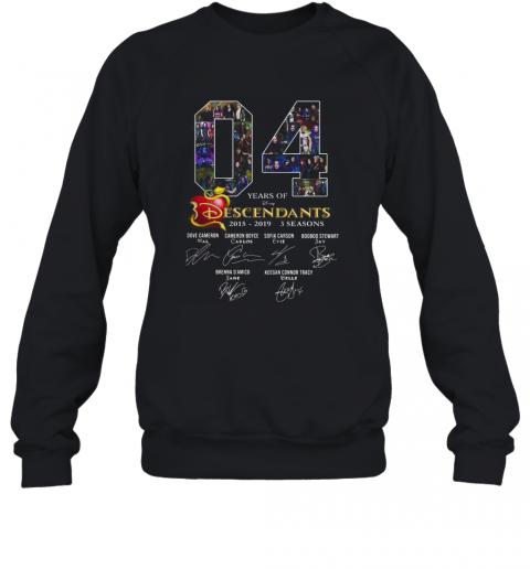 04 Years Of Descendants 2015 2019 3 Seasons Signature T-Shirt Unisex Sweatshirt