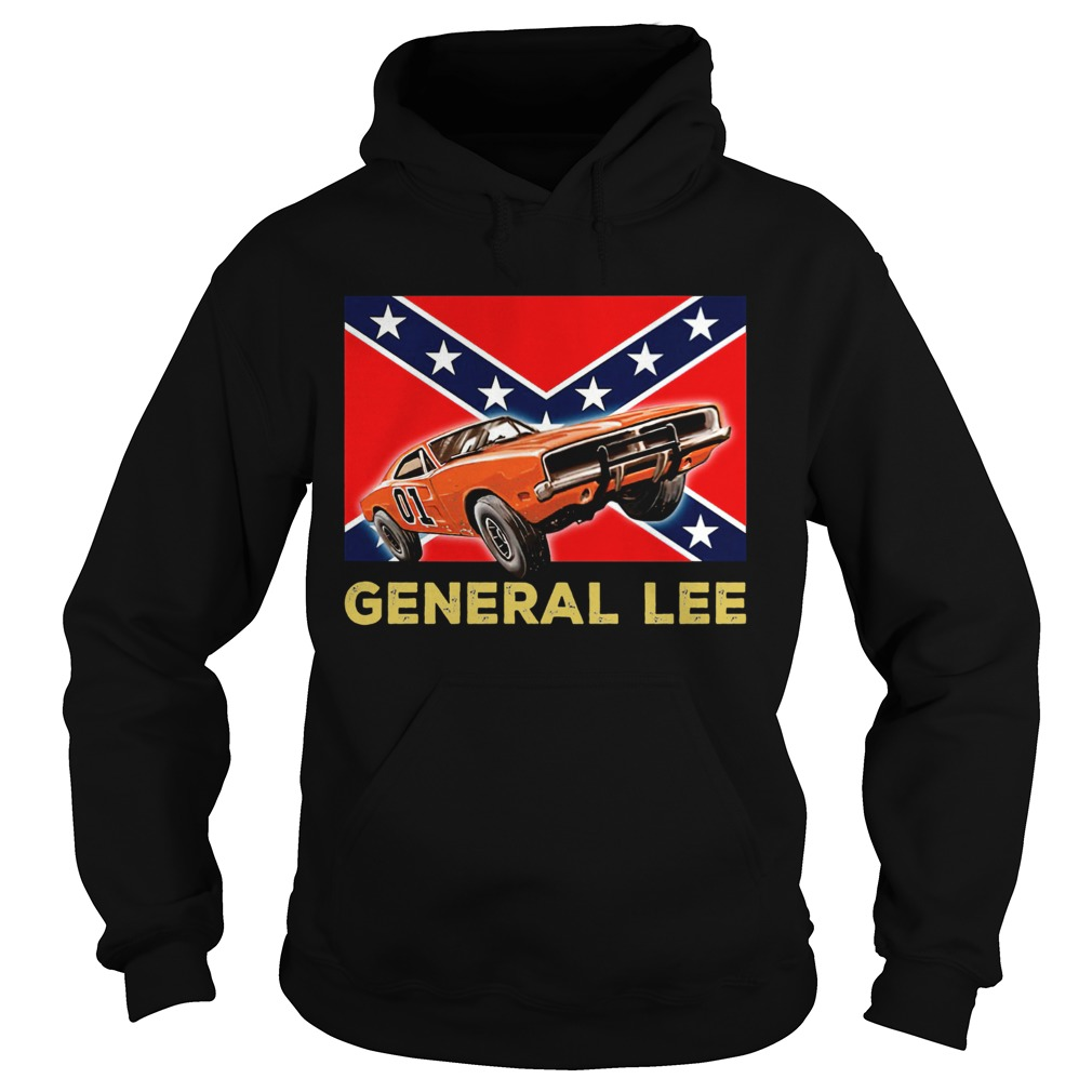 General Lee Dixieland Flag  Hoodie