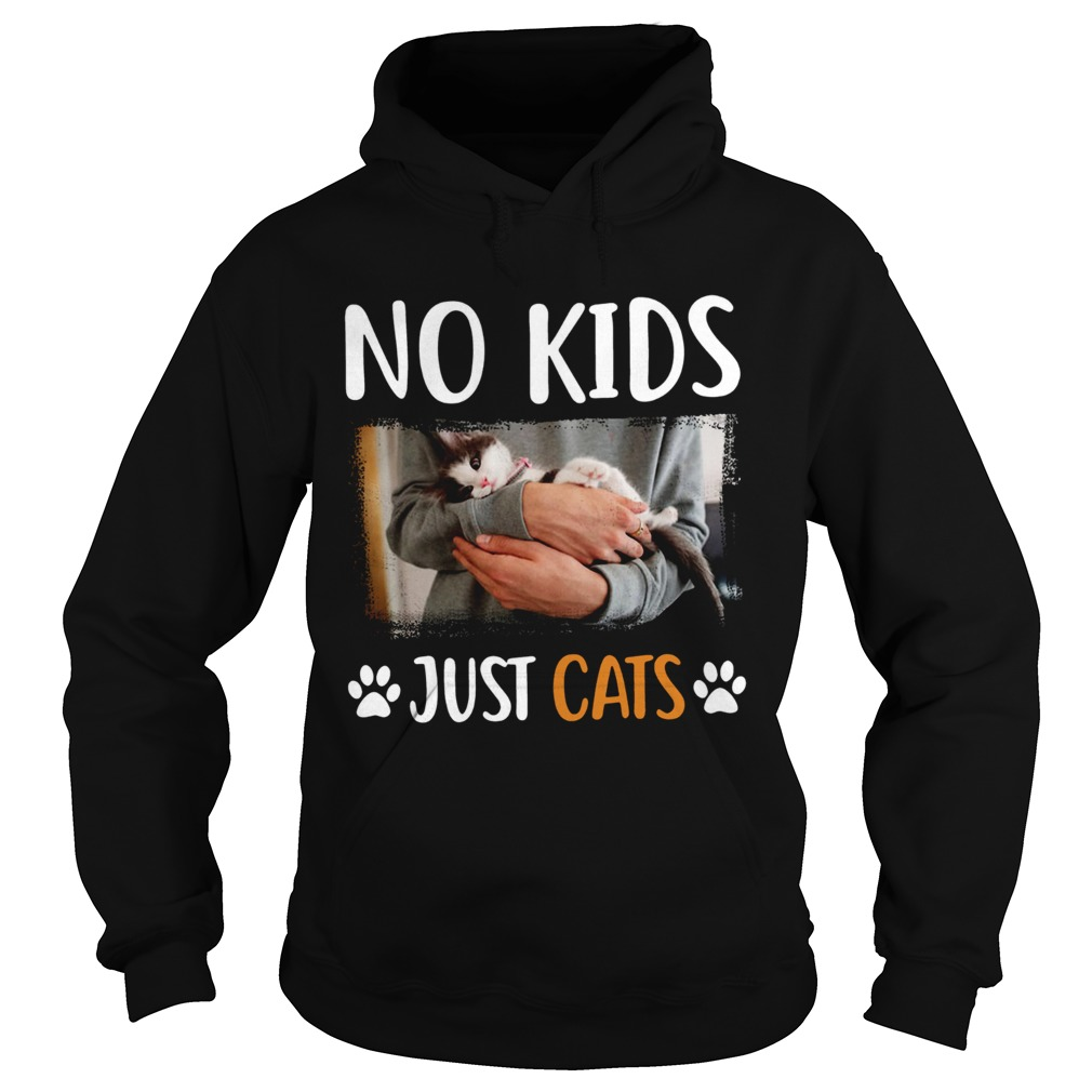 No Kids Just Cats  Hoodie