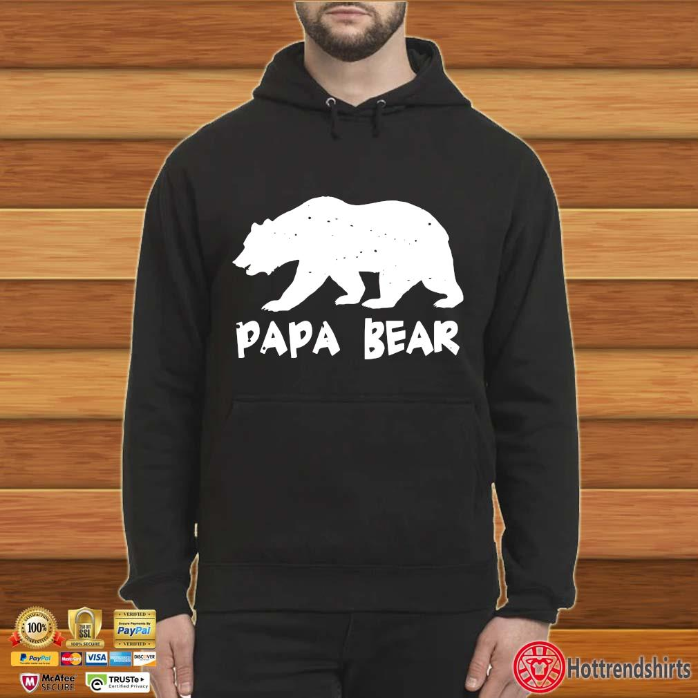 Papa Bear Funny Matching Shirt Hoodie