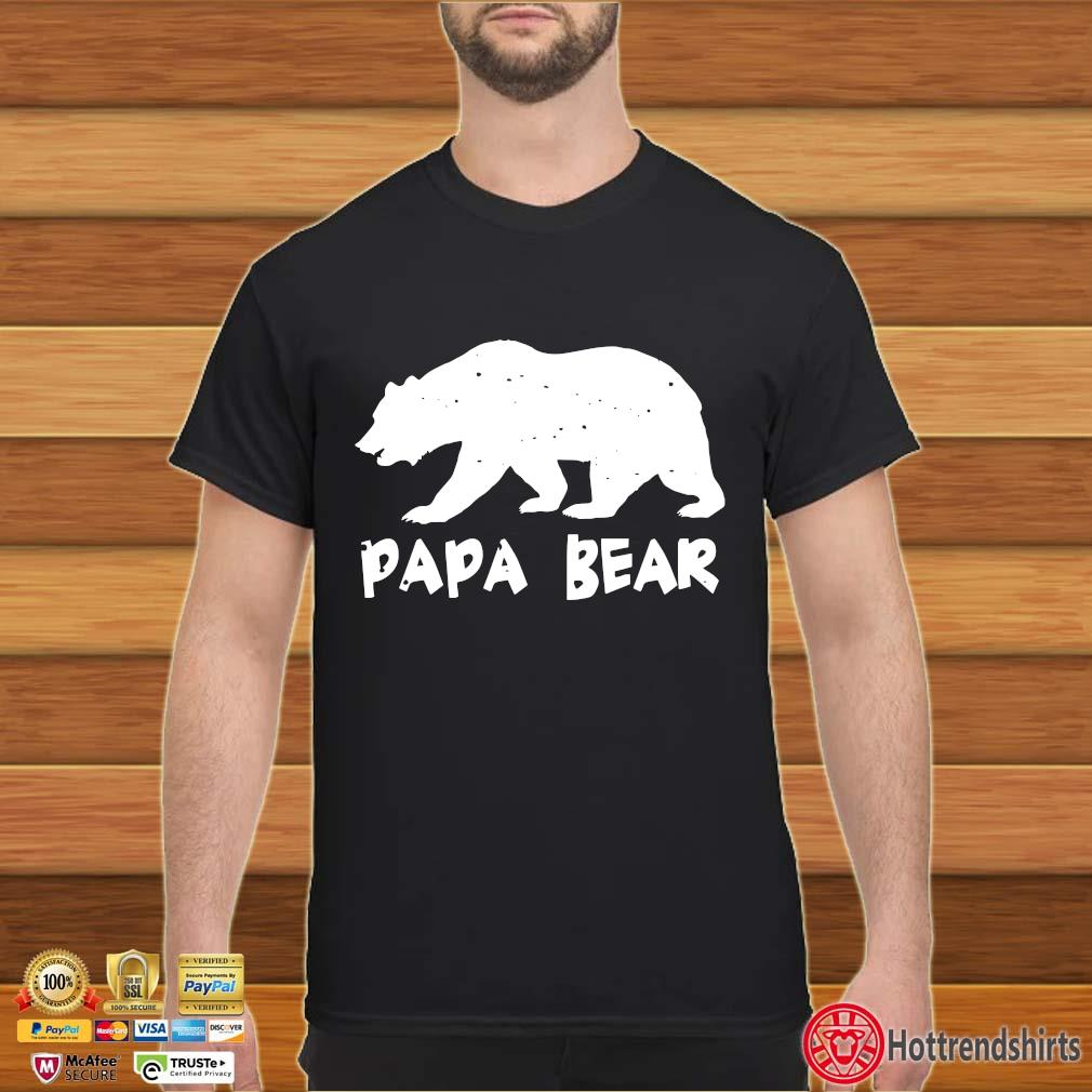 Papa Bear Funny Matching Shirt