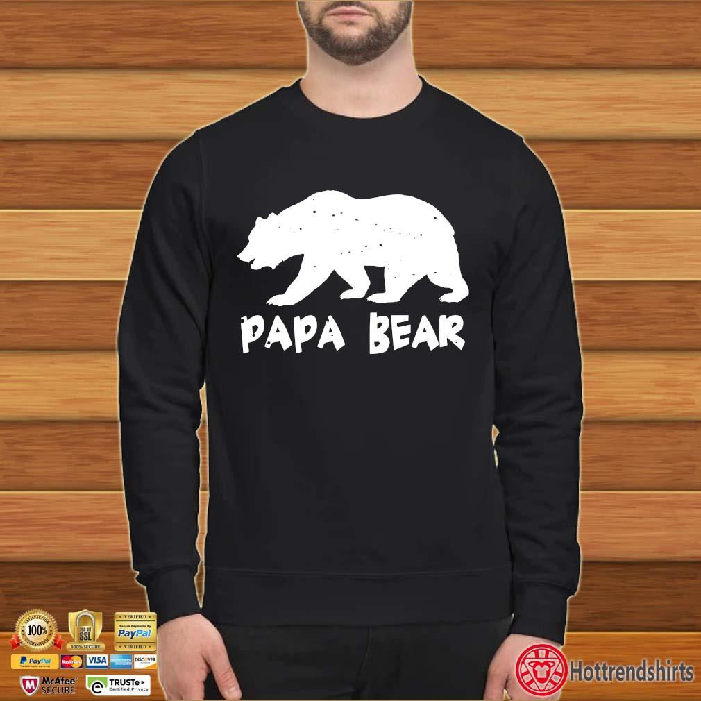 Papa Bear Funny Matching Shirt Sweater den