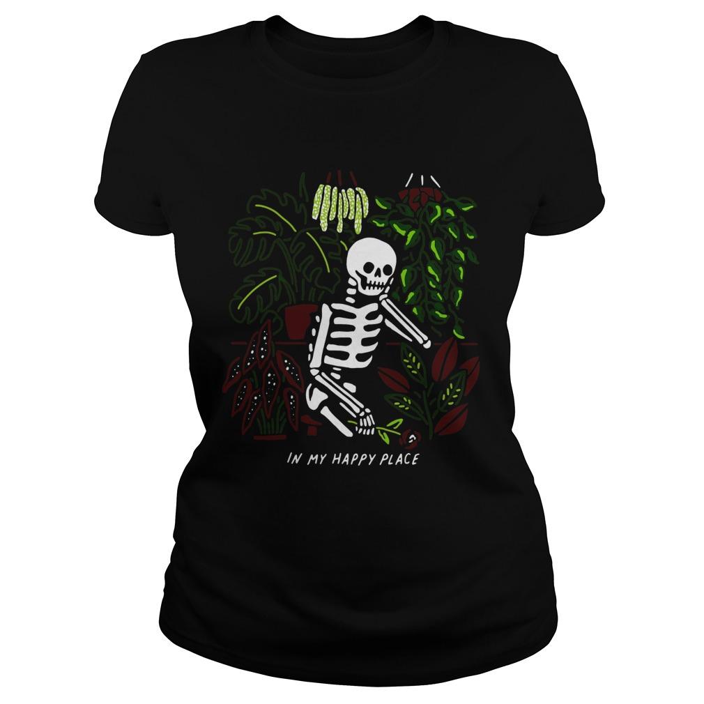 Skull My Happy Place  Classic Ladies