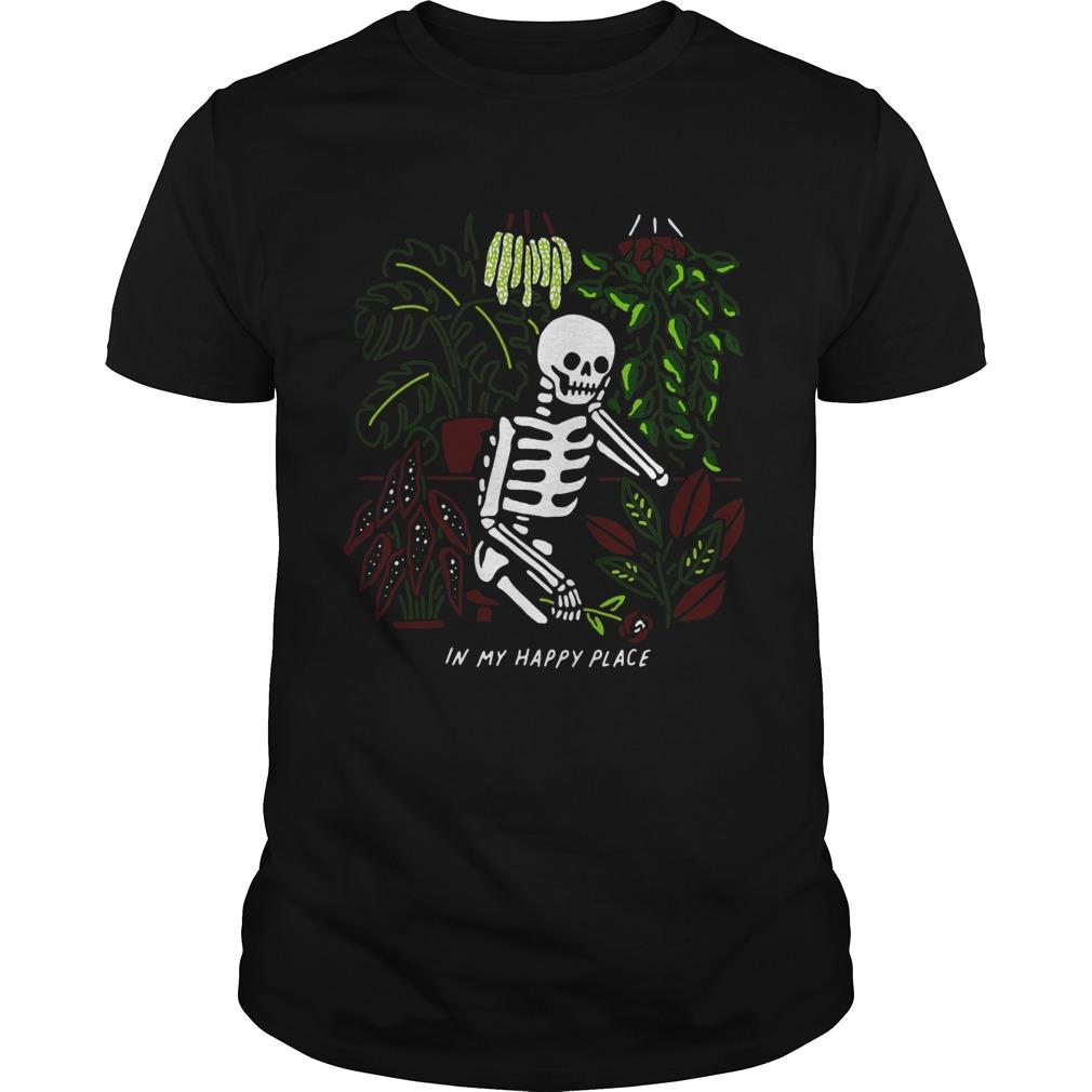 Skull My Happy Place  Unisex