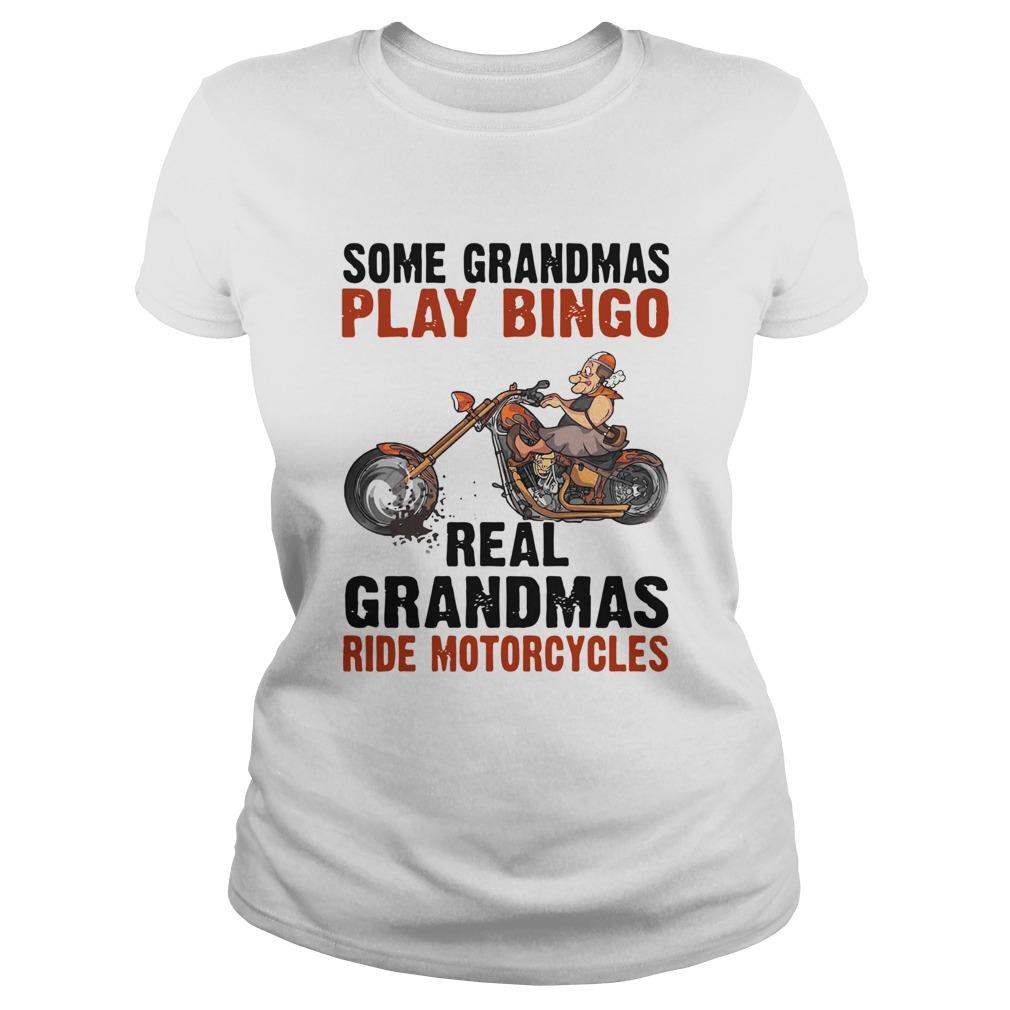 Some Grandmas Play Bingo Real Grandmas Ride Motorcycles  Classic Ladies
