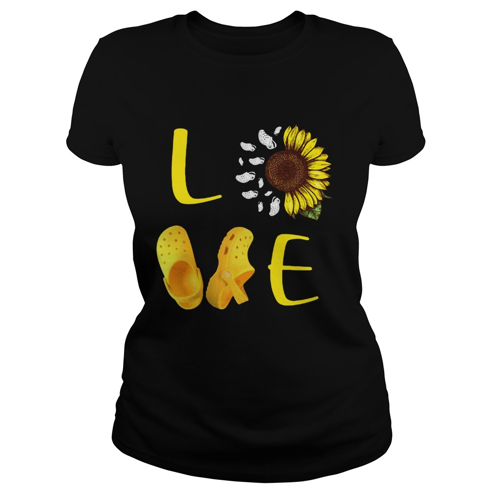 Sunflower Love Croc  Classic Ladies