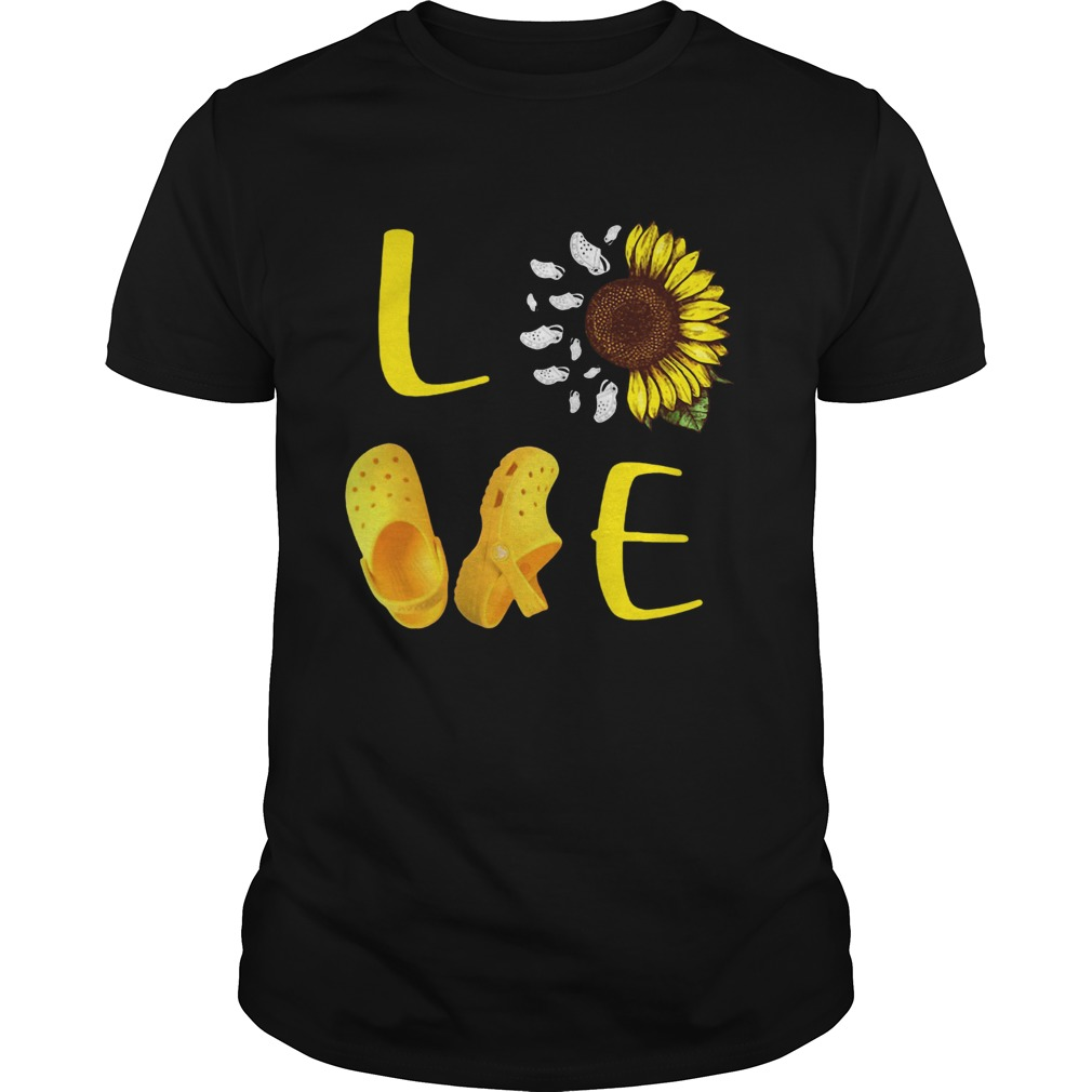 Sunflower Love Croc  Unisex