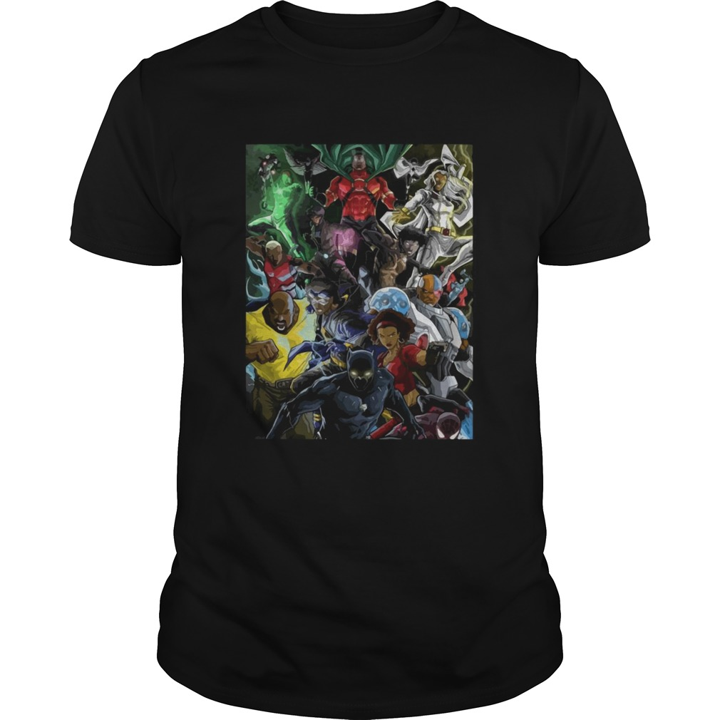 Superheroes Of Colour By Zack  Unisex