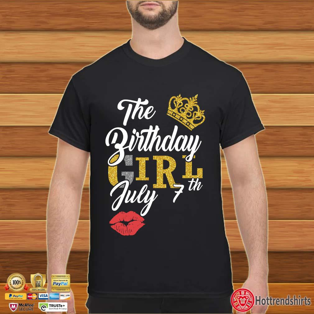 The Birthday Girl July 7th Shirt