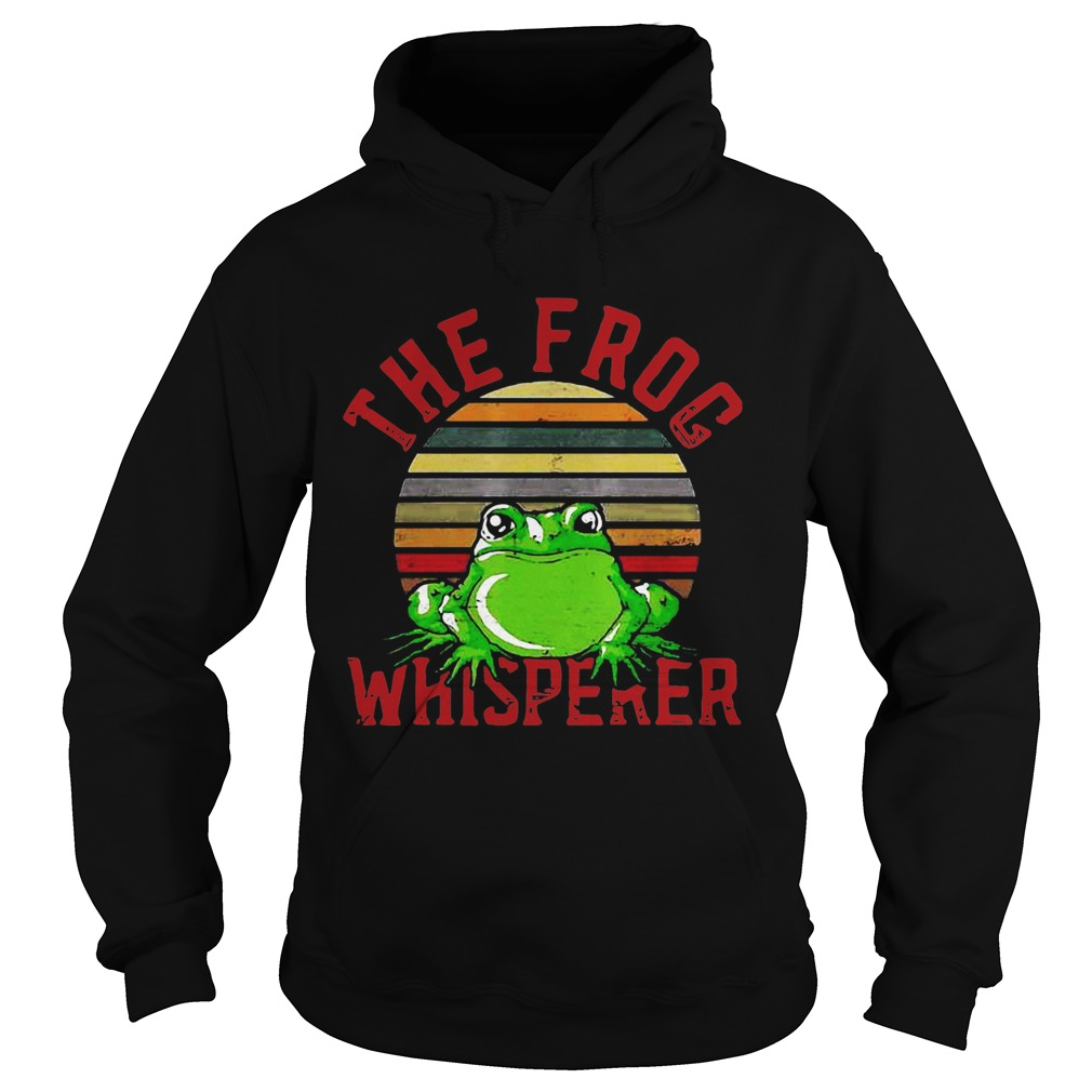 The Frog Whisperer  Hoodie