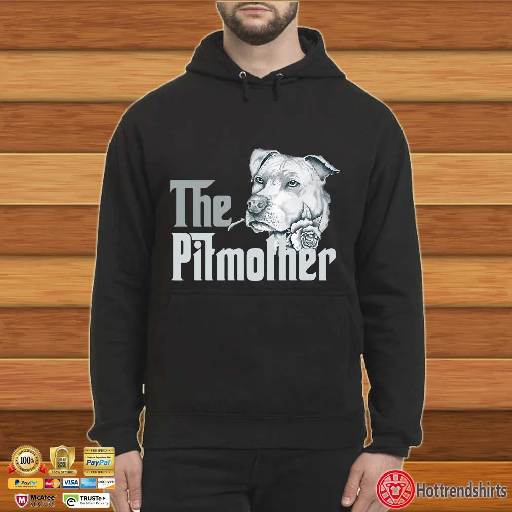 The Pitbull Mother Rose Shirt Hoodie