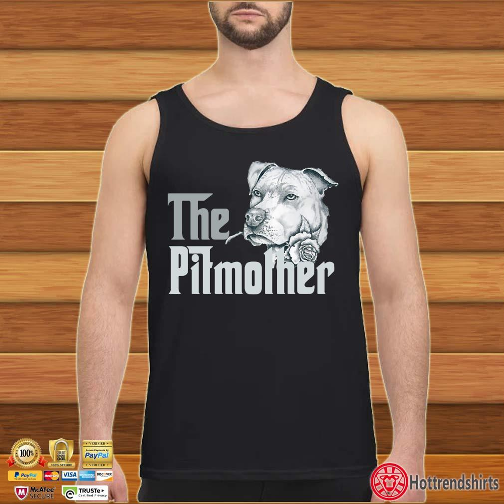 The Pitbull Mother Rose Shirt Tank top den